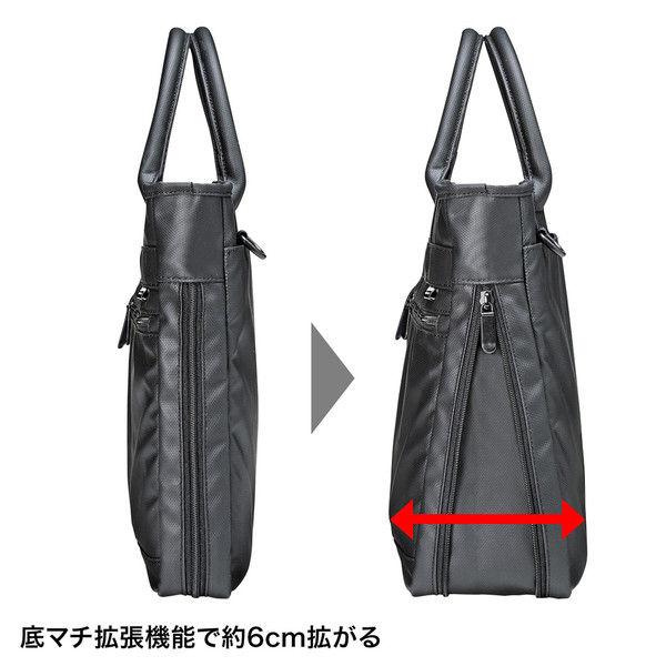 サンワサプライ ビジカジPCバッグ BAG-GF9WP 1個 (直送品)