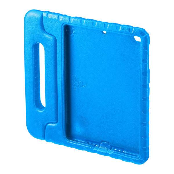 サンワサプライ iPad 9.7インチ 衝撃吸収ケース 青 PDA-IPAD1005BL 1個 (直送品)