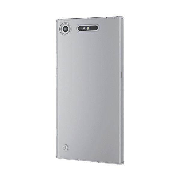 ELECOM Xperia XZ1/シェルカバー/極み/クリア PM-XZ1PVKCR 1個 (直送品)