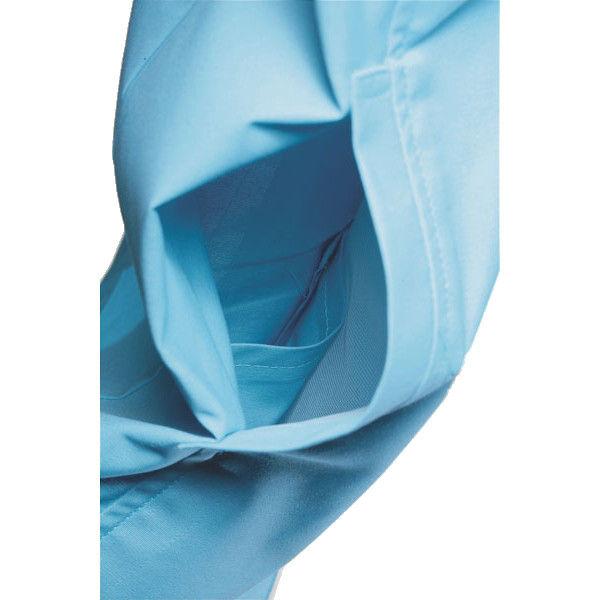 明石スクールユニフォームカンパニー レディース半袖ジャケット スカイブルー 13 UN1933-6-13 (直送品)