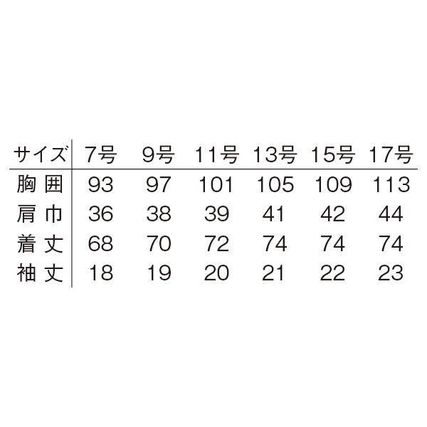 明石スクールユニフォームカンパニー レディスチュニック ネイビー 13 UZQ807-5-13 (直送品)