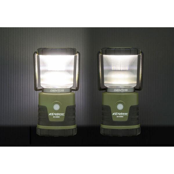 GENTOS ジェントス LEDランタン 調光・調色 EX-036D (乾電池式)