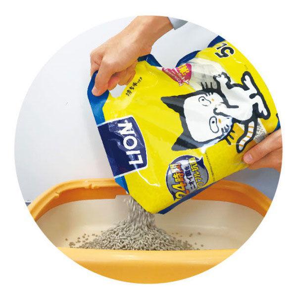 ニオイをとる砂 軽量5L+除菌クリーナー