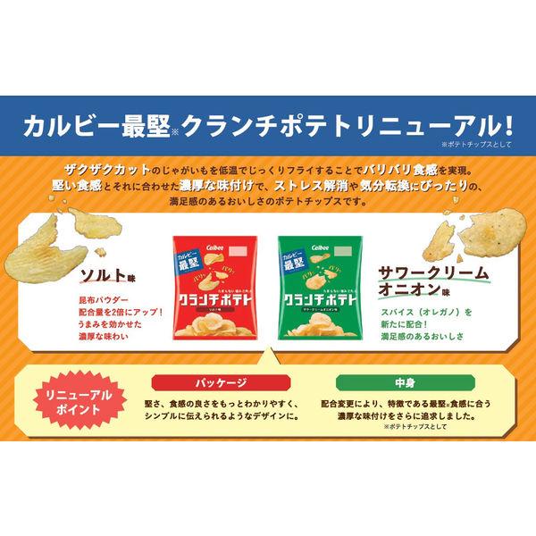 クランチポテト ソルト味 60g 4袋