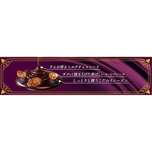 チョコフレークプレミアラム&レーズン4袋