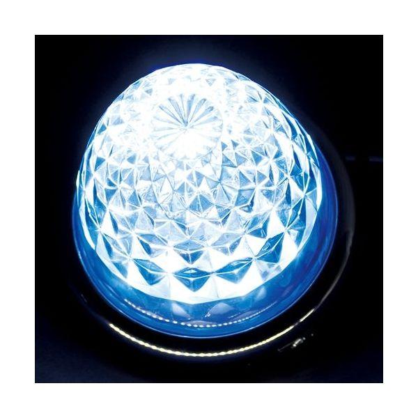 YAC 槌屋ヤック LEDユニット 超流星マーカーユニット ブルーイッシュホワイト 12/24V CE-36(直送品)
