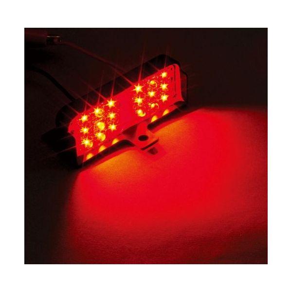 YAC 槌屋ヤック LED 流星ダウンライトワイド2レッド DC24V CE-412(直送品)