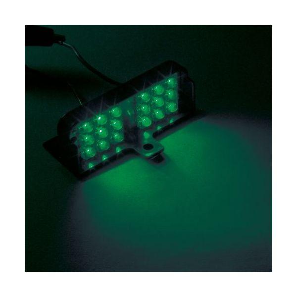 YAC 槌屋ヤック LED 流星ダウンライトワイド2グリーン DC24V CE-413(直送品)