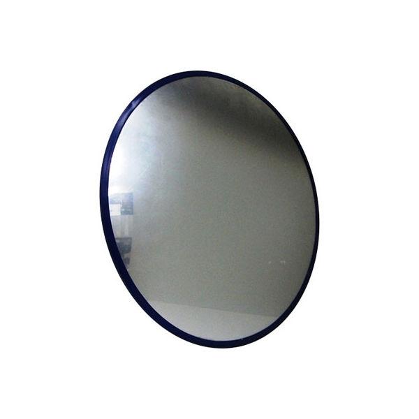 信栄物産 防犯ミラー クランプタイプ ブルー CR-45-BL(直送品)