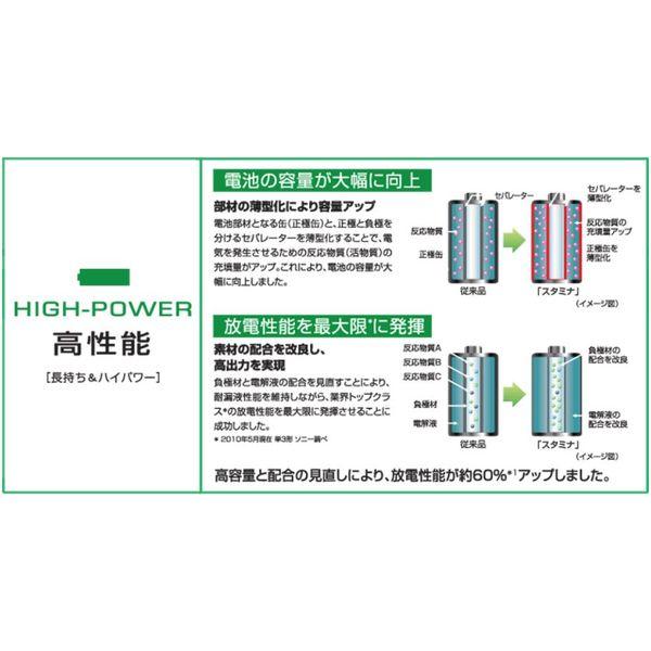 ソニー アルカリ乾電池 単3形
