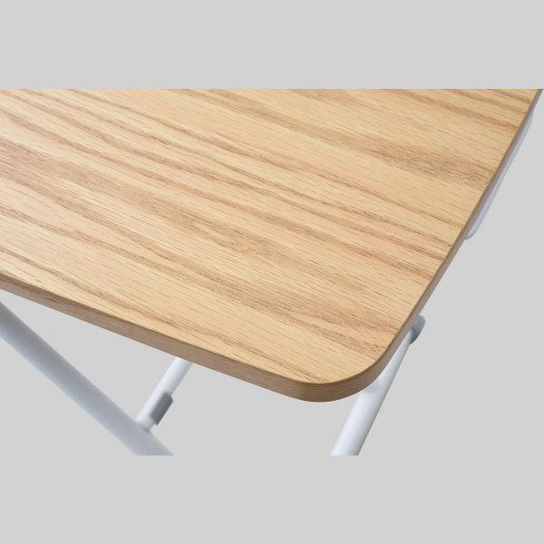 山善 突板昇降テーブル NGL-8045