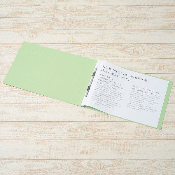 プラス フラットファイル A3E 緑 10冊 NO.002N10GR (直送品)