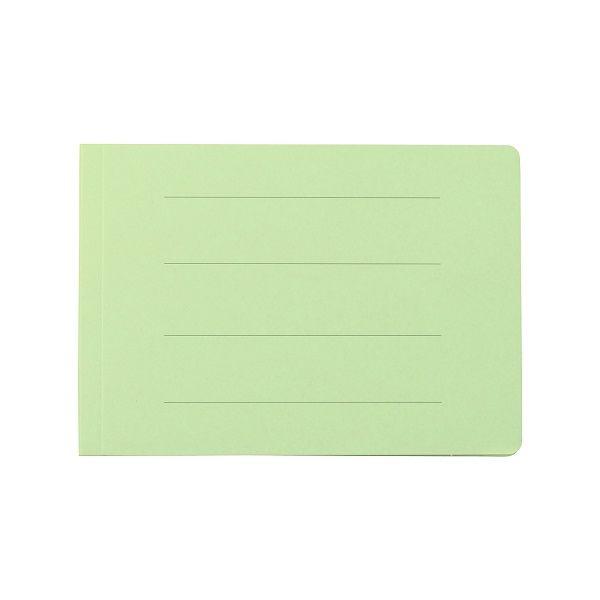 プラス フラットファイル B6E 緑 10冊 NO.052N10GR (直送品)