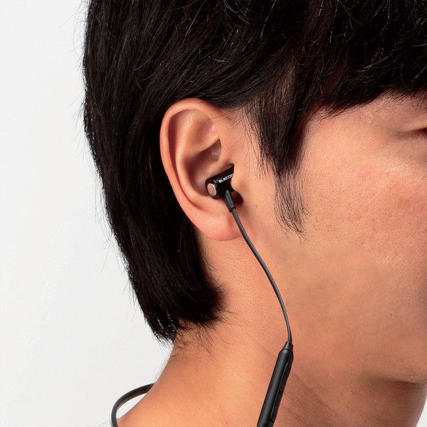エレコム Bluetoothイヤホン/HPC51/携帯/ブラック LBT-HPC51MPBK 1個 (直送品)
