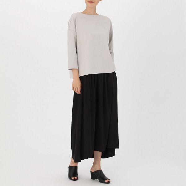 無印 モダールマキシ丈スカート 婦人 L