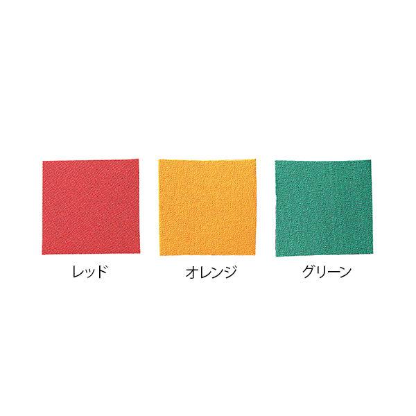 アズワン 松葉杖クッションカバー 脇パッドカバー オレンジ 7-4633-03 1枚(直送品)