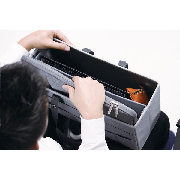 ソニック キャビネットバック A4ノート PC対応 グレー UT-1463-GL 1セット(3個:1個×3)