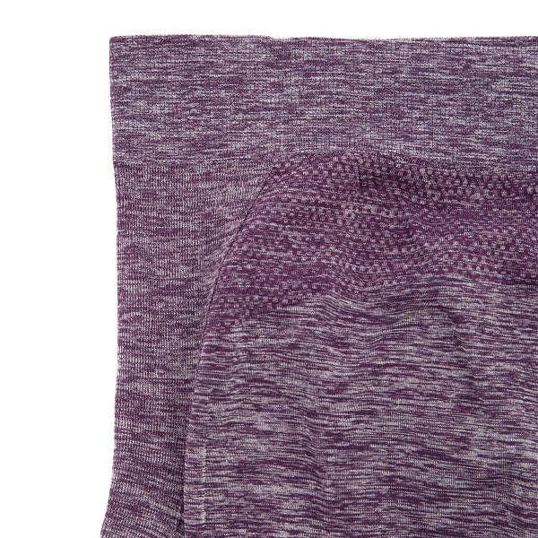 アツギスポーツ用 7分丈ボトム紫LL