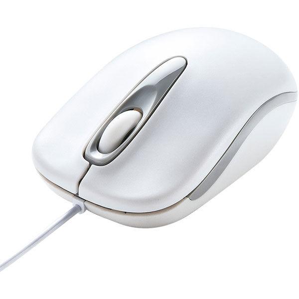 サンワサプライ 有線光学式マウス MA-R115W 1個 (直送品)