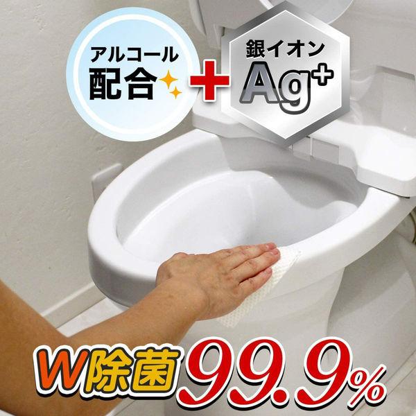 激落ちくん流せる 除菌トイレクリーナー