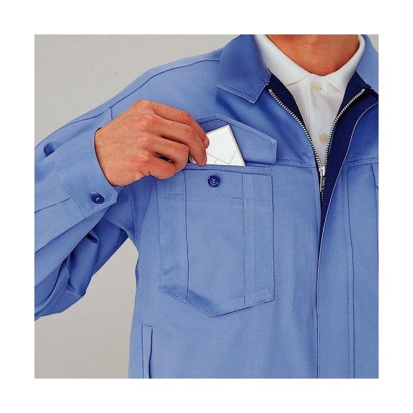 ミドリ安全 綿ブルゾン G363 上 ライトブルー 5L  1着(直送品)