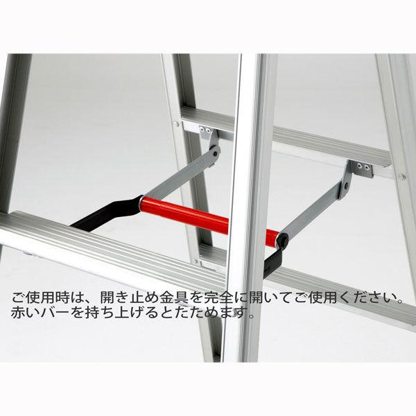 Hasegawa(長谷川工業) アルミ合金 軽量専用脚立 伸縮タイプ 5段 (5尺 152cm) RZS1.0-15 1台 (直送品)