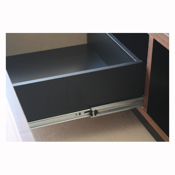 quad TVボード 幅1800mm ブラウン 1台 東馬 (直送品)