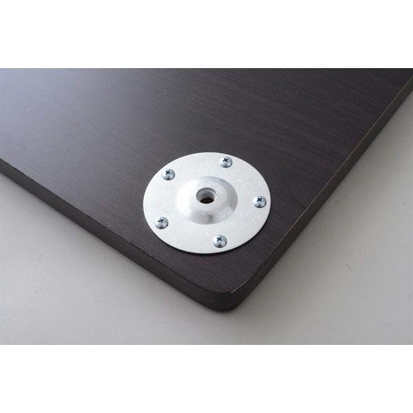 YAMAZEN(山善) アセンブリテーブル専用天板 幅1200×奥行600mm ダークブラウン 1枚(直送品)