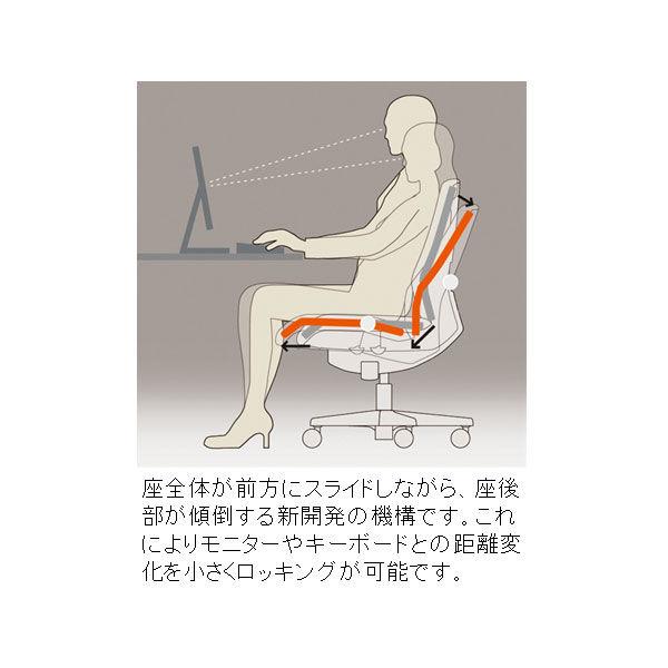 イトーキ トルテRチェア ローバック プラムパープル アジャスタブル肘付 KZ247GBM-W9X7 (直送品)