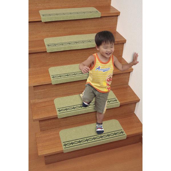 すべり止め付き階段マット