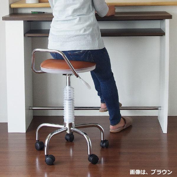宮武製作所 カウンターチェア ブラック (直送品)