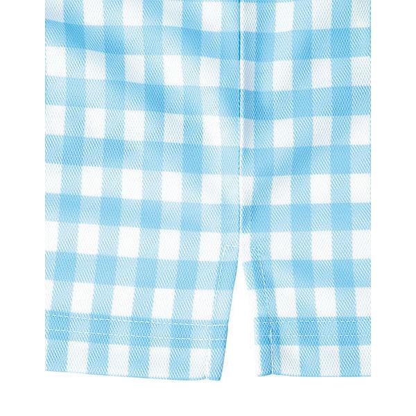 【メーカーカタログ】ボンマックス チェックプリントポロシャツ(長袖) ネイビー LL FB4536U 1枚 (直送品)
