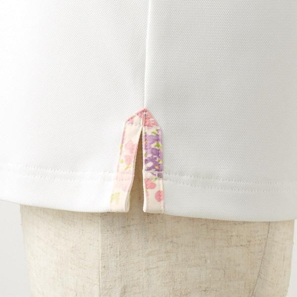 【メーカーカタログ】 住商モンブラン レディスニットシャツ オフ白×アメリピンク LL LW202-12 1枚  (直送品)