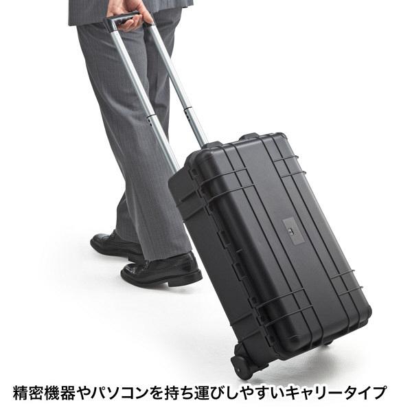 サンワサプライ ハードツールケース(キャリータイプ) BAG-HD3 (直送品)