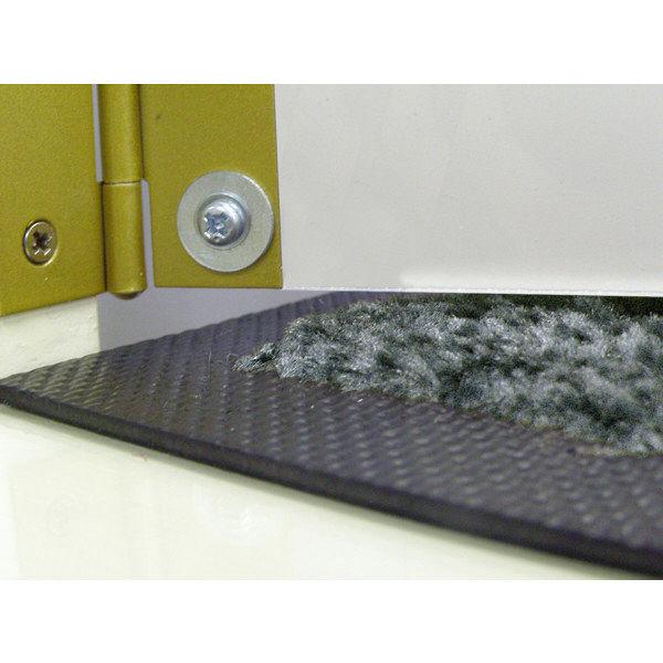 スクレイプマットS シルバー 120×1000cm (直送品)