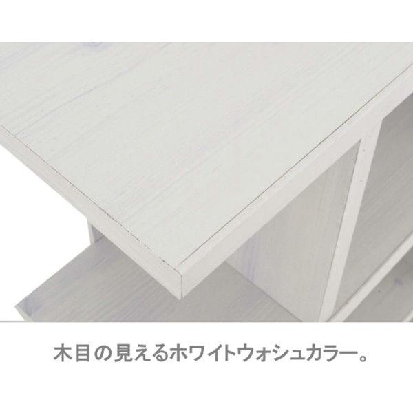 佐藤産業 フィズシェルフ 幅900×高さ765mm ホワイト FZ80-90WH 1台 (直送品)
