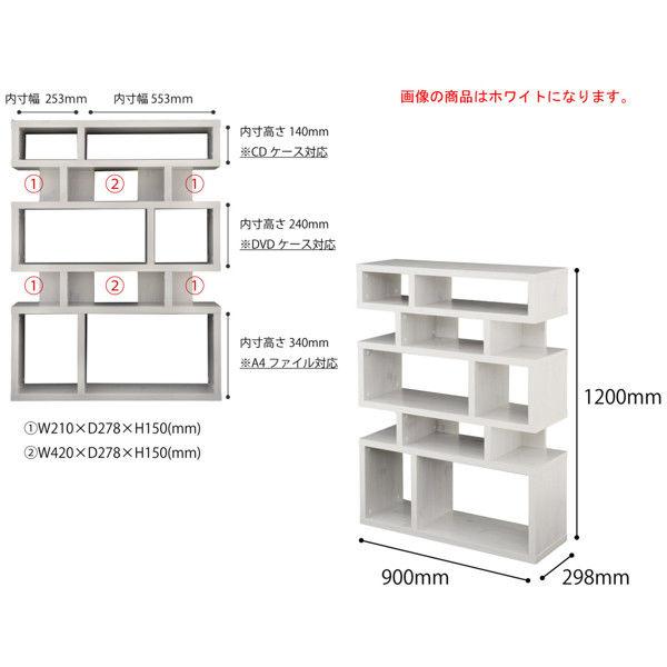 佐藤産業 ライクシェルフ(タイプTK) 幅900×高さ1200mm ダークナチュラル LK120-90TK_DNA 1台 (直送品)