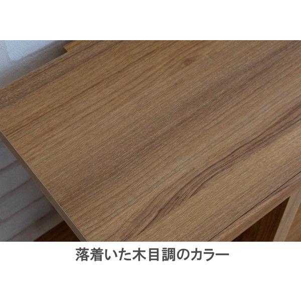 佐藤産業 フィズシェルフ 幅900×高さ1500mm ダークナチュラル FZ150-90DNA 1台 (直送品)