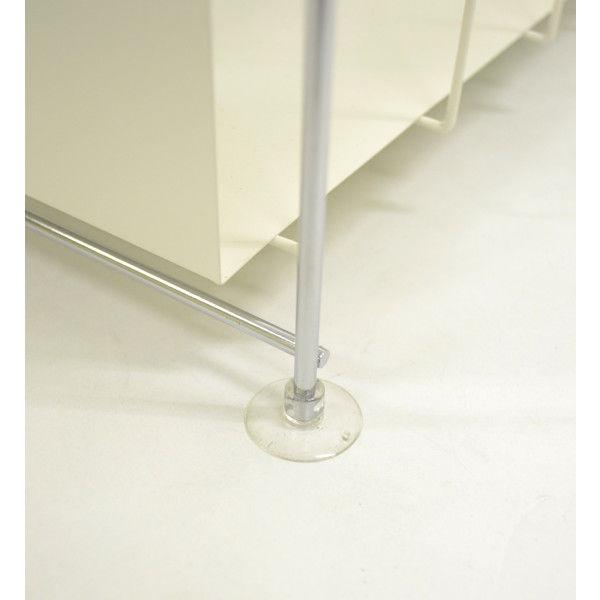 ビーワーススタイル 洗面下ラック2段 幅270×奥行340×高さ377mm ホワイト YA-810011 1台 (直送品)