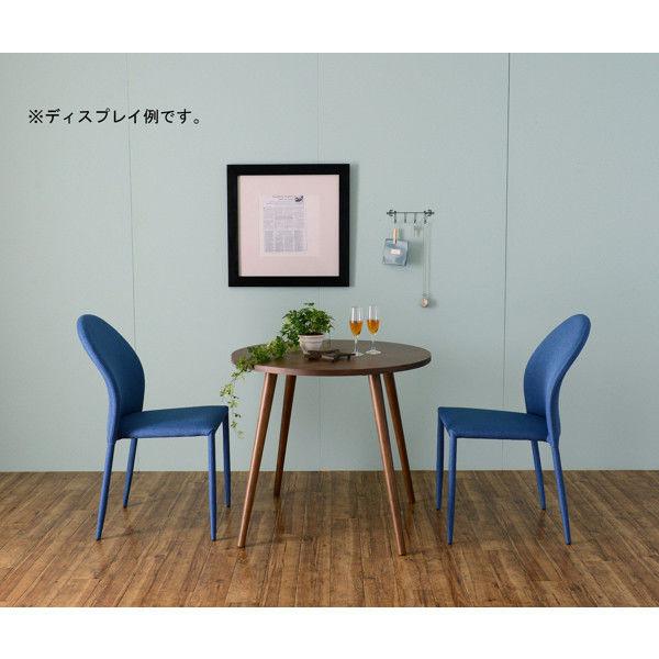佐藤産業 JELUFIE(ジェルフィー) ダイニングテーブル 幅800mm×奥行800mm ブラウン JLF70-80T_BR 1台 (直送品)