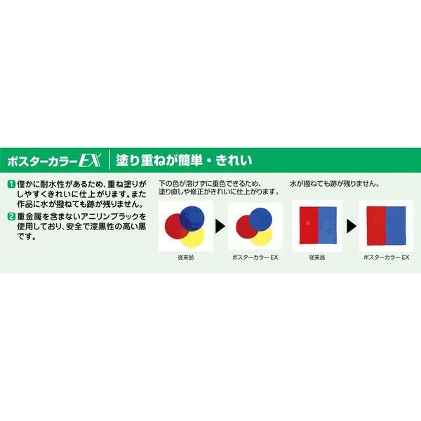 サクラクレパス ポスターカラーEX 12色13本入り PEW13 (直送品)