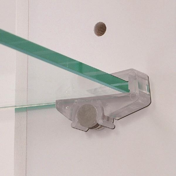 塩川光明堂 NEO ネオ コレクションケース ホワイト 幅400×奥行250×高さ1500mm 1台 (直送品)