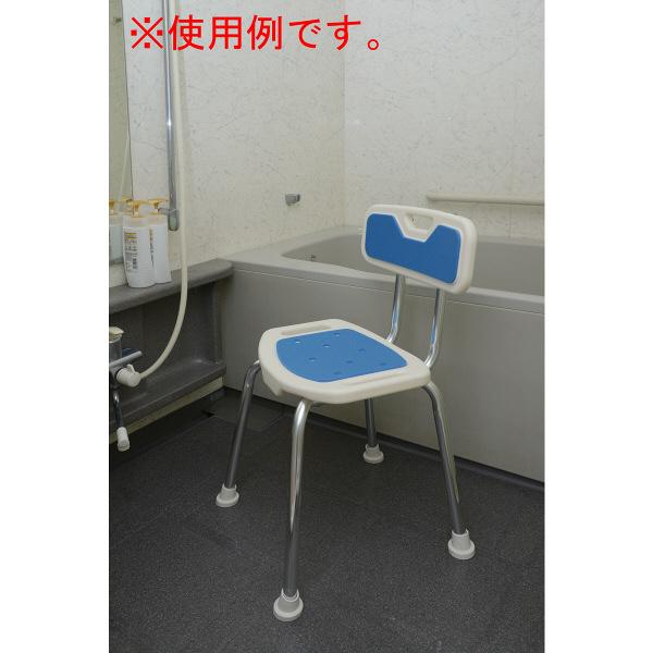YAMAZEN コンフォートシャワーチェア 幅455X奥行450X高さ730mm 1脚 (直送品)