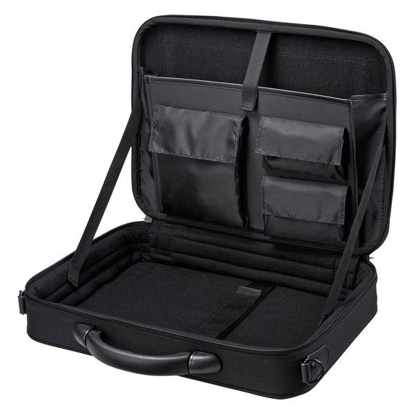 サンワサプライ セミハードPCケース ブラック/15.6インチワイドまで対応 BAG-EVA5BKN (直送品)