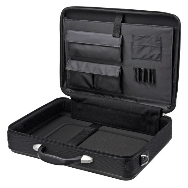 サンワサプライ セミハードPCケース シングル・鍵付き ブラック/インチワイドまで対応 BAG-EVA7BKN (直送品)