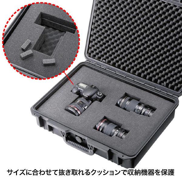 サンワサプライ ハードツールケース ブラック/18インチワイドまで対応 BAG-HD2 (直送品)
