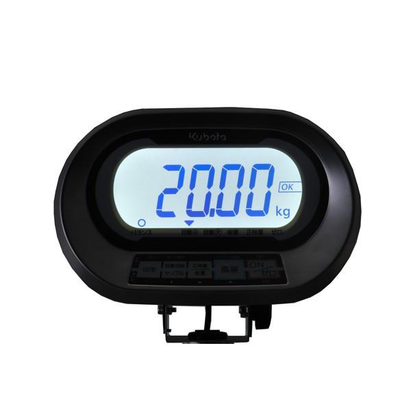 クボタ計装 防水防塵デジタル台はかり32kg用(検定品) KL-IP-K32S(地区16) (直送品)
