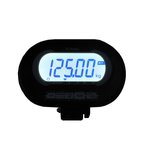 クボタ計装 デジタル台はかり60kg用(検定品) KL-SD-K60A(地区4-5) (直送品)