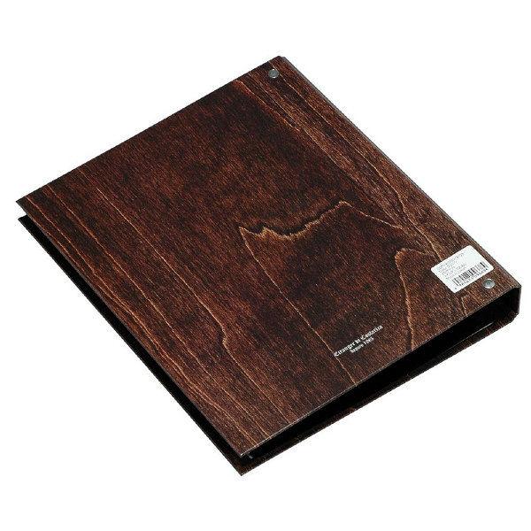 エトランジェ・ディ・コスタリカ A4ポケットファイル[WOOD]ブラウン WOODー18ー03 3冊 (直送品)