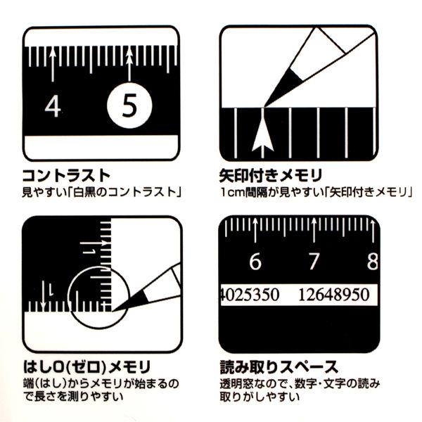 レイメイ藤井 見やすい白黒三角定規 10cm 黒 APJ251B 5個 (直送品)
